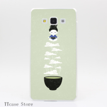 4177CA Zen tea Transparent Hard Cover Case for Galaxy A3 A5 A7 A8 Note 2 3 4 5 J5 J7 Grand 2 & Prime
