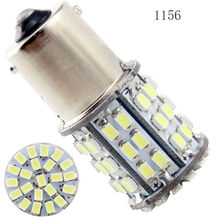 10PCS Auto Led S25 1156 BA15S 1157 BAY15D 1206 64 SMD LED Turning Light Corner Backup Lamps Parking Light Automotive Led Bulbs(China)