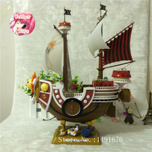 Anime One Piece Pirate ship Action Figure Thousand Sunny ship Pirate ship Model PVC Action Figure Toys(China)