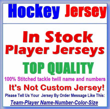 Any In Stock Players Hockey Jerseys All logo/Name/Number 100% Stitched Tackl S-4XL Embroidery Free Shipping - 39.99 USD