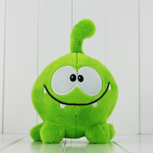 20cm cut the rope my Om Nom cartoon cut the rope stuffed and soft animal toys Plush toys free shiiping