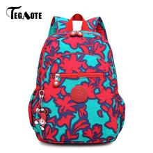 TEGAOTE Small Backpack for Teenage Girls Children Backpacks Mochila Feminina Casual Nylon Mini Women Bagpack 2017 Daypack