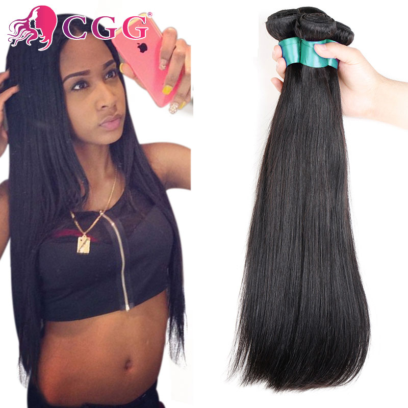 Mink Brazilian Virgin Hair Straight 4Bundle Deals Unprocessed Virgin Brazilian Straight Hair Extensions 7A 100% Human Hair Weave<br><br>Aliexpress
