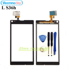 Buy Vecmnoday Touchscreen Sensor Sony Xperia L S36H C2105 C2104 Front Glass Touch Screen Panel Digitizer Replacement Parts for $8.18 in AliExpress store