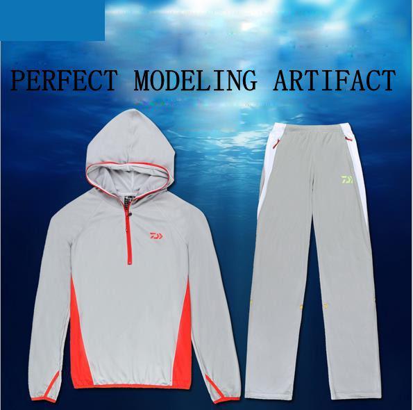 2016 New Shirts Fishing Clothing Breathable Sunscreen Shirt Men Quick Drying UPF 50+ Long Sleeve Hooded Fishing Shirts LS0901<br><br>Aliexpress