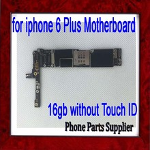100% Good Working,16gb Original Unlocked for iphone 6 plus Motherboard without Fingerprint Function by free Shipping(China)
