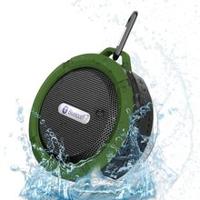 Mini Bluetooth Speaker Waterproof Portable Subwoofer Support SD TF Card MP3 Player With Metal Hook for Outdoor Sport Riding(China)