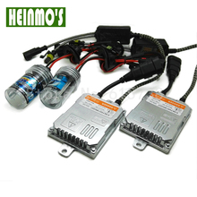 Car Xenon Light H4 55W High /Low Beam 6000K Pure White With Ballast For HID Replacement Parts H7 H8 H1 Headlight Conversion Kit(China)