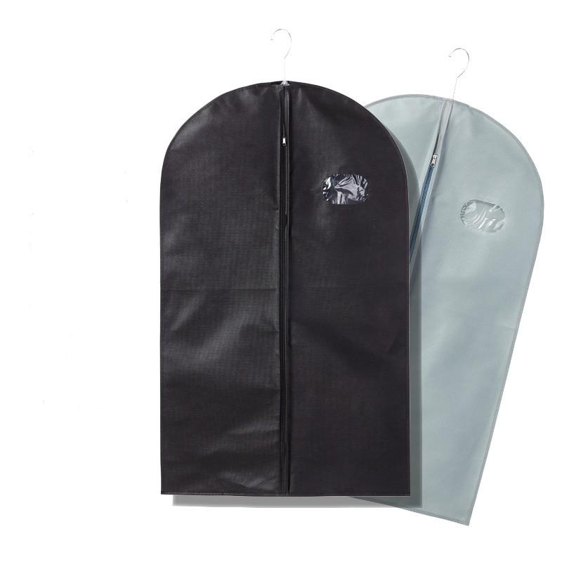 thickening clothes dustproof nonwoven fabrics suit jacket travel bag transparent three