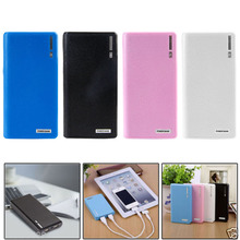 Dual USB Power Bank 6x 18650 External Backup Battery Charger Box Case For Phone