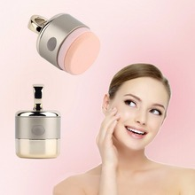 3D Electric Smart Foundation Face Powder Vibrator Puff Makeup Sponge Cosmetic Beauty Spa Tool
