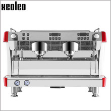 Xeoleo Commercial Semi-automatic Coffee machine Stainless steel Espresso Coffee maker 9Bar Espresso machine 3800W Espresso maker(China)