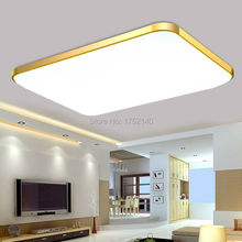 Newly modern minimalist led ceiling lights with fine dimming function. living room bedroom indoor lamp, with remote controller(China)