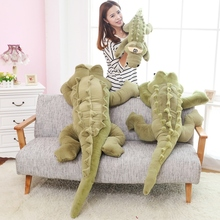 big plush 80cm/100cm creative cartoon simulation crocodile and lizard plush stuffed doll toys kid baby boy birthday gift