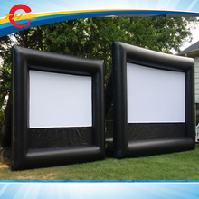 outdoor Giant Inflatable Movie Screen,Inflatable air cinema Screen,inflatable film screens(China)