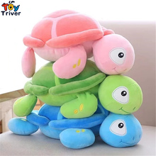 Plush Cartoon Tortoise Turtle Toys Doll Stuffed Ocean Animal Baby Kids Baby Gift Home Shop Decoration Ornament Pillow Cushion(China)