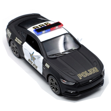 Brand New 1:38 Ford 2006 Mustang GT Police Alloy Diecast Model Car Toy Collection As Gift For Boy Children Toys Free Shipping(China)