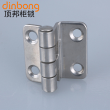 Dinbong CL252 stainless steel hinge right angle bending high and low pressure cabinet hinge mechanical equipment hinge(China)