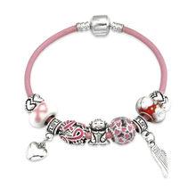 Cancer Bead Bracelets Promotion-Shop for Promotional Cancer Bead ... 82fba16228cc
