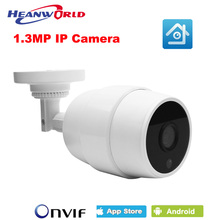 Cheap Waterproof Mini HD IP Camera 960P 1.3 Outdoor Security Camera CCTV Monitoring ONVIF IP Cam P2P CMS and APP View