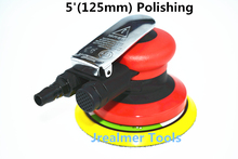 Jrealmer 5 Inch Random Orbital Air For Palm Sander & Car Polisher Vacuum Cleaner Set Tool 5inch Polishing Machine Powewr Tools(China)