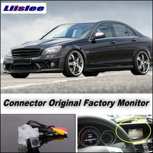 For Mercedes Benz C Class MB W204 Camera Connect Original Factory Screen / Monitor LiisLee High Quality Rear View Back Up Camera
