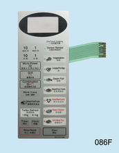 Microwave oven panel switch NN-K574MF touchpad Toggle the membrane switch(China)