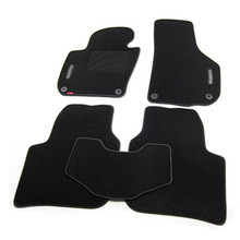 5pcs High Quality Odorless Auto Carpet Mats Perfect Fitted For Skoda Superb