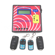 Computer Car Door Remote Control Key Copy Machine Digital Counter Remote Master with 4pcs Fixed Code Remote Key 290-450MHZ