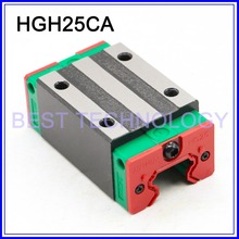 Open Linear Bearing Slide Block HGH25CA for Square Linear Guide Rail HIWIN linear block carriage
