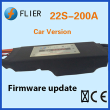 Flier 22S 200A electric speed controller brushless esc for rc jet engine car/automobile(China)