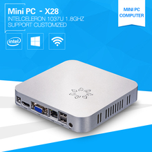 XCY Mini Computer barebone PC 1037U 1.8GHz thin client plastic with fan DDR3 Memory and Msata SSD small case living room TV Box