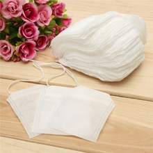 100Pcs/lot 6*8cm Corn Fiber Tea Bags Biodegraded Tea Filters Infusers Quadrangle Pyramid Heat Sealing Filter Bags Drinkware