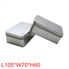 Size:105x70x40mm/tea tin box for 50g tea packing/bag tea tin box/food tin can