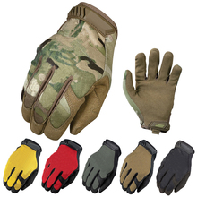 New Lightweight Multicam General Edition Army Military Tactical Gloves Full Finger Shooting Bicycle Airsoft Mittens