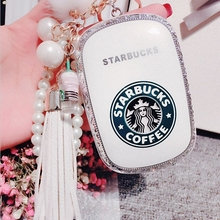 2016 Luxury fashion Diamond starbuck Power Bank 12000mAh High Quality External Challenge Po mobile Powerbank portable battery