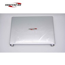 "New Original For Acer Aspire V5 V5-471P LCD Back Cover With Hinges 14"" Silver 41.4TU14.021 A Shell"