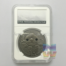 Mongolia 2012 1oz .999 Silver Coin 500 togrog Wildlife Protection Long-eared Hedgehog Coin  capsule PCCB NGC style Box