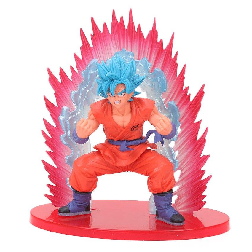 Dragon Ball DBZ Kaioken Goku Ichiban Kuji Saiyan Banpresto Figure Japan Anime