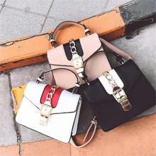 New women's bag PU leather Shoulder bags Ladies fasion design Summer bag Female long Chains Crossbody bag Designer sac a main