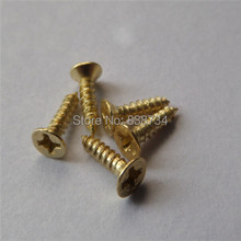 2mm,2,5mm,3mm bronze golden silver color steel philip flat countersunk self tapping screw for box hinge and hook accessories(China)