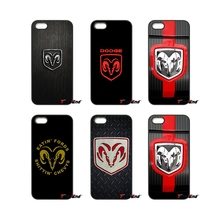 For iPhone 4 4S 5 5C SE 6 6S 7 Plus Samsung Galaxy Grand Core Prime Alpha Cool Dodge Ram logo Print Hard Phone Case Cover