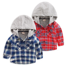 the new 2017 boys a hooded sweatshirt fall clothing children's clothing han edition Children's baby cardigan coat U4122(China)