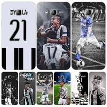 Italy famous soccer 21 Paulo DYBALA cover phone case for Samsung Galaxy J1 J2 J3 J5 J7 MINI ACE 2017 2016 2015