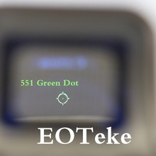 551 552 Holographic A series of products Red Green Dot Sight Rifle Scope with 20mm Rail Mounts for Airsoft Holographic sight
