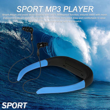 8GB Sport MP3 Player Super Waterproof IPX8 Wireless Stereo Headsets for Swimming Surfing(China)