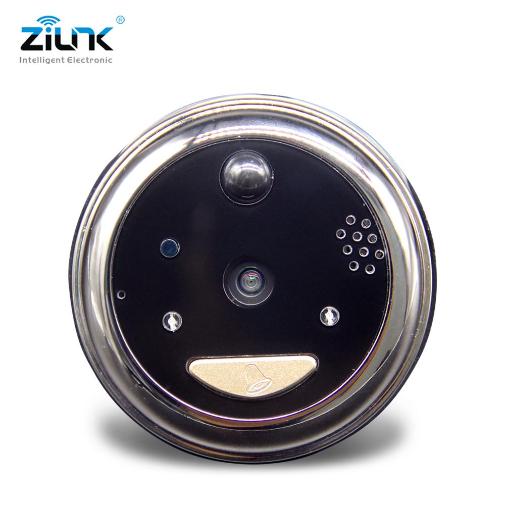 Battery Peephole Video Doorbell Camera Cat Eye_DB32S (3)
