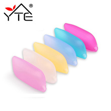Food Grade Toothbrush Holder Head Case Cap Eco-Friendly Silicone Cover Portable Travel Toothbrush Holder Bathroom Accessories(China)