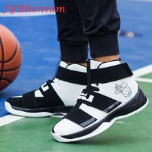 New Arrival Basketball Shoes Men Women Breathable Outdoor Mens Basketball Sneakers High Top Basket Homme Big Size 39-46