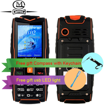 Russian keyboard IP68 waterproof shockproof Mobile phone Vkworld Stone new V3 3000mAh battery FM flashlight outdoor cell phones